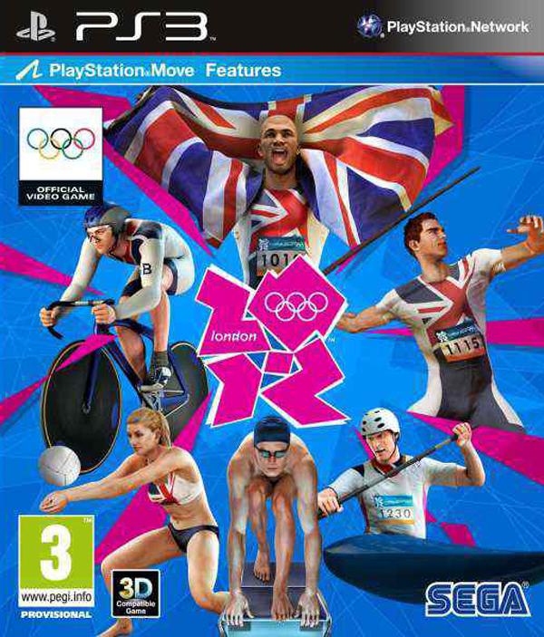 London 2012  Video Game Back Title by WonderClub