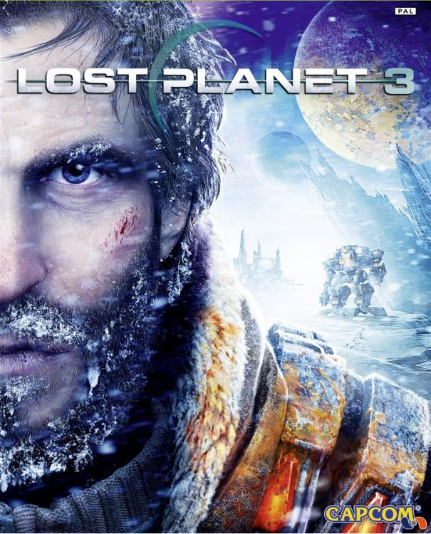 Lost Planet 3 Video Game Back Title by WonderClub