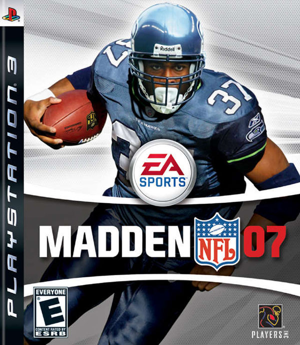 Madden NFL 07 Video Game Back Title by WonderClub