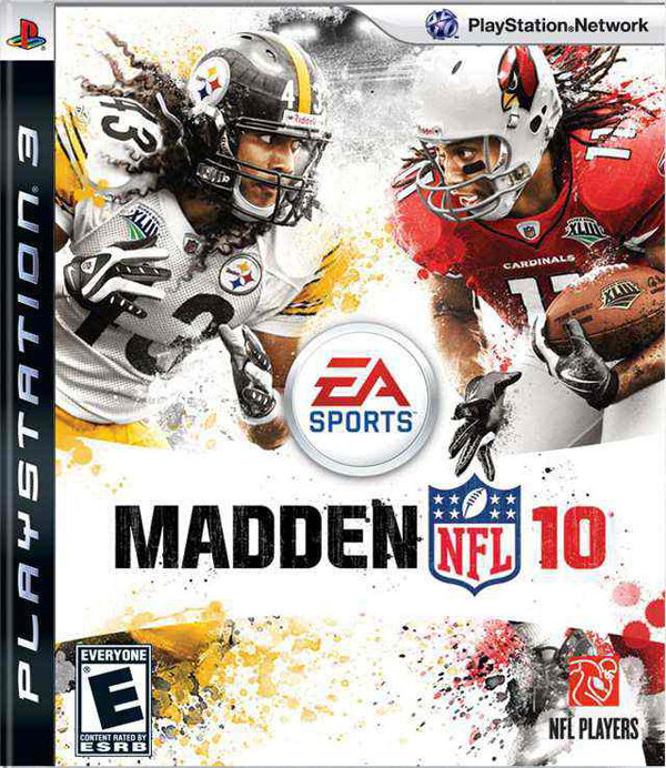 Madden NFL 10 Video Game Back Title by WonderClub