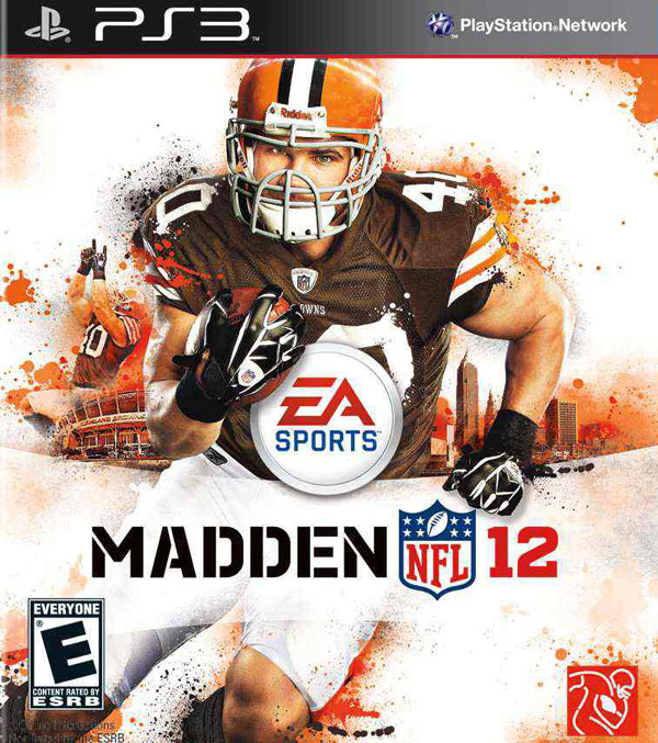 Madden NFL 12 Video Game Back Title by WonderClub