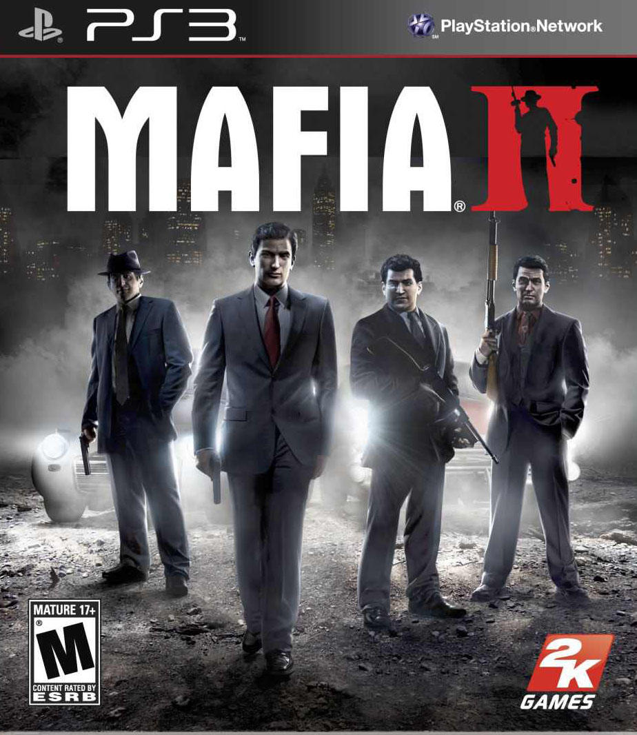 Mafia II Video Game Back Title by WonderClub