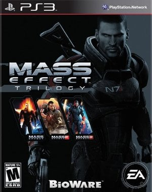 Mass Effect Trilogy Video Game Back Title by WonderClub