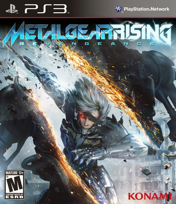 Metal Gear Rising: Revengeance Video Game Back Title by WonderClub