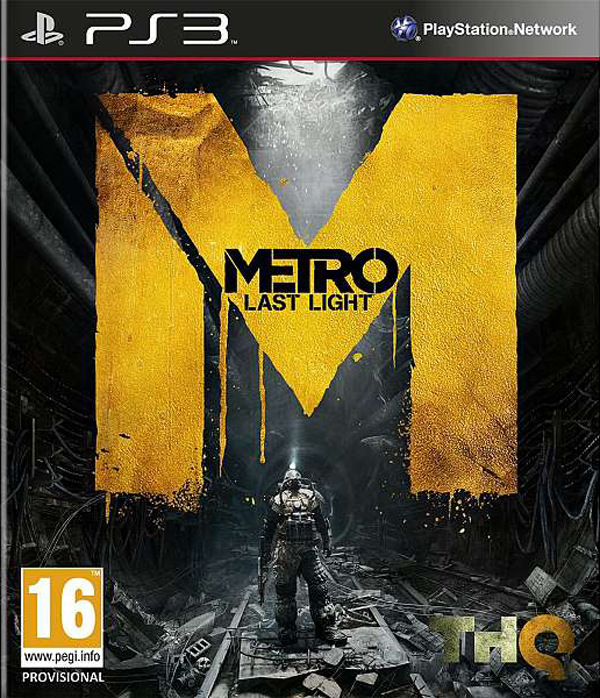 Metro: Last Light Video Game Back Title by WonderClub