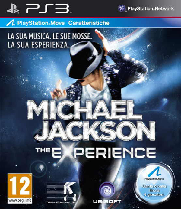 Michael Jackson: The Experience Video Game Back Title by WonderClub