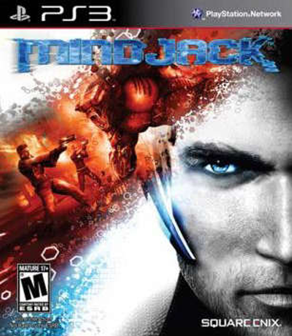 MindJack Video Game Back Title by WonderClub