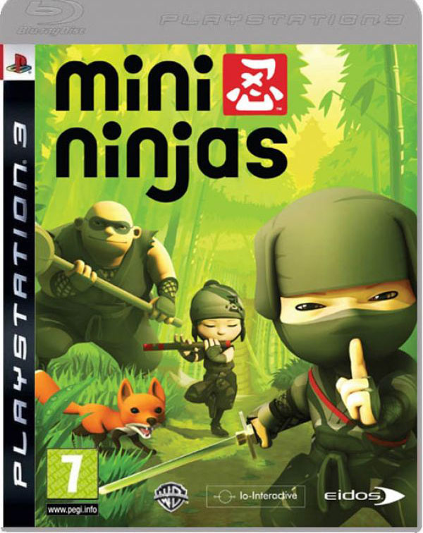 Mini Ninjas Video Game Back Title by WonderClub