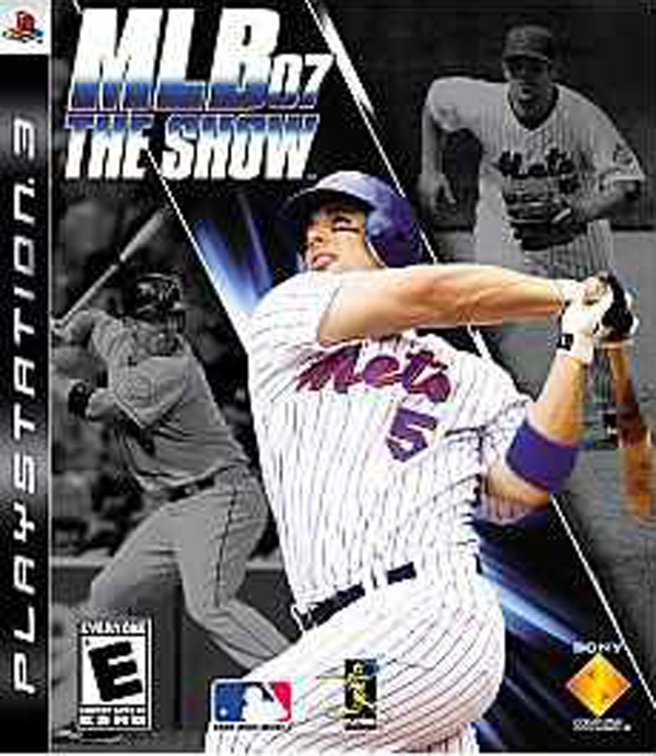 MLB 07: The Show Video Game Back Title by WonderClub