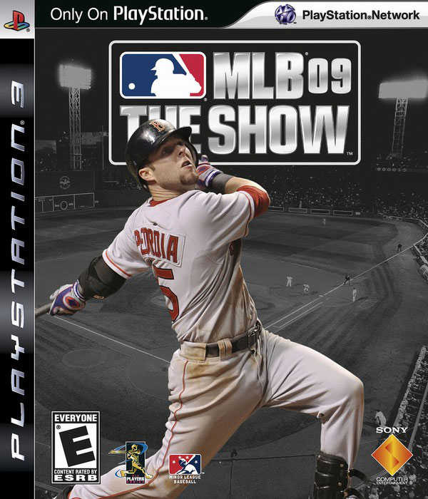 MLB 09: The Show Video Game Back Title by WonderClub