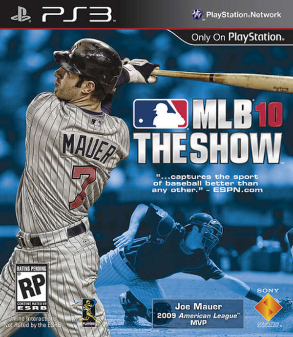 MLB 10: The Show Video Game Back Title by WonderClub