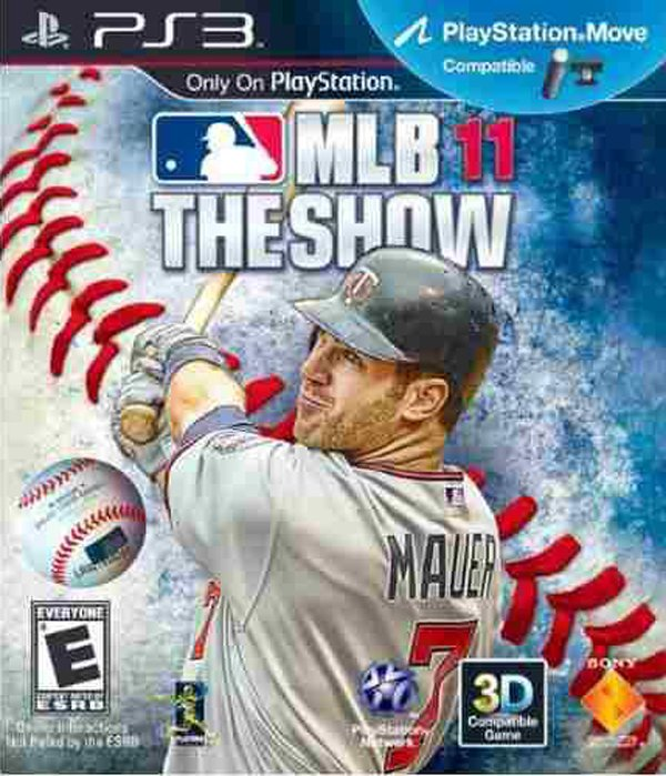MLB 11: The Show Video Game Back Title by WonderClub