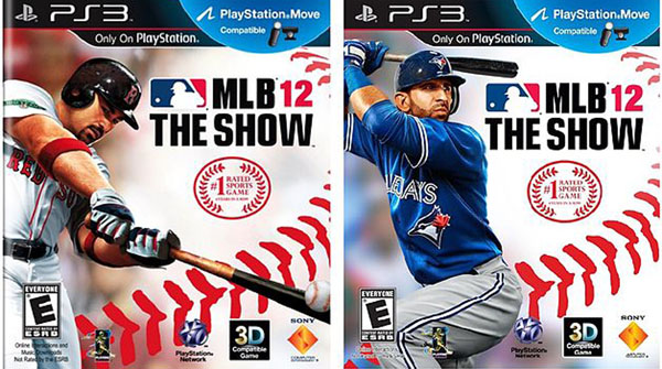 MLB 12: The Show Video Game Back Title by WonderClub