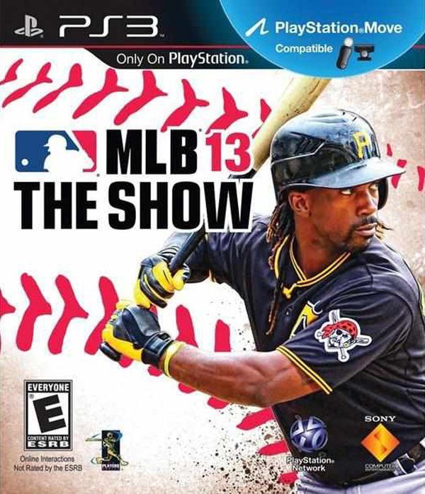 MLB 13: The Show Video Game Back Title by WonderClub