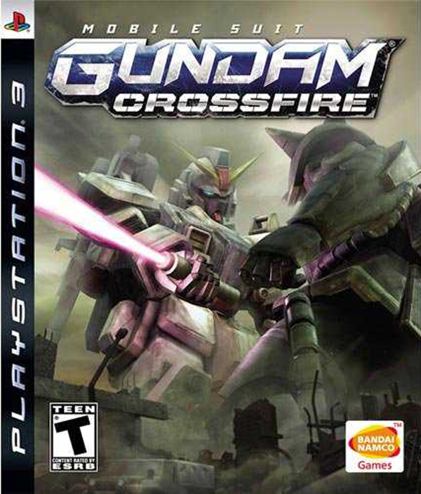 Mobile Suit Gundam: Crossfire Video Game Back Title by WonderClub