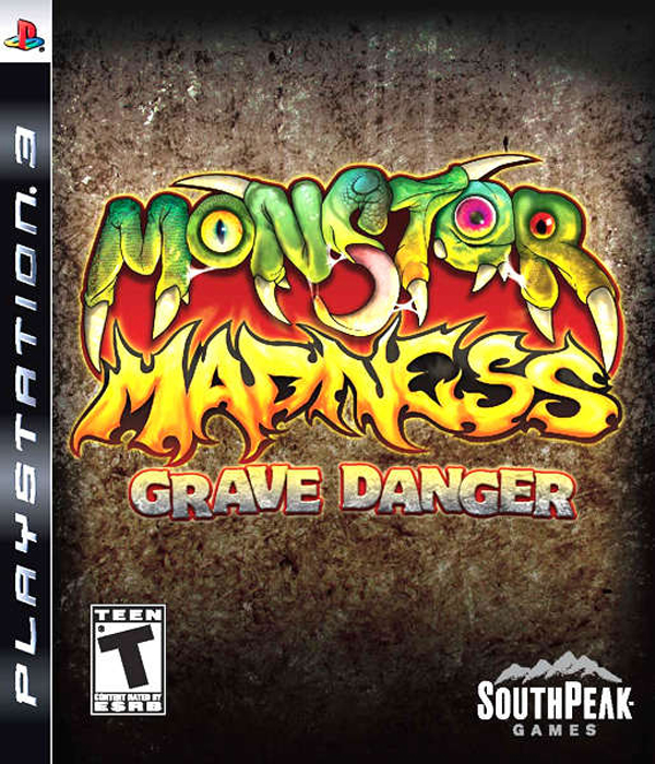 Monster Madness: Grave Danger Video Game Back Title by WonderClub