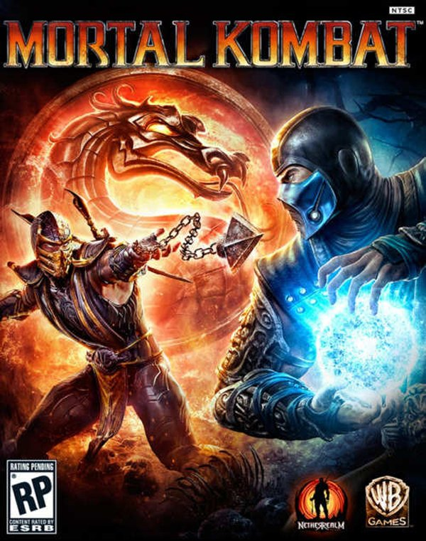 Mortal Kombat  Video Game Back Title by WonderClub