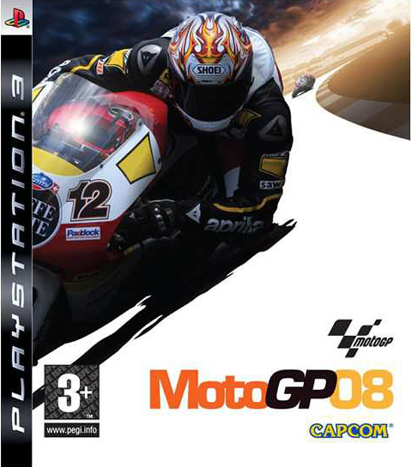 MotoGP '08 Video Game Back Title by WonderClub