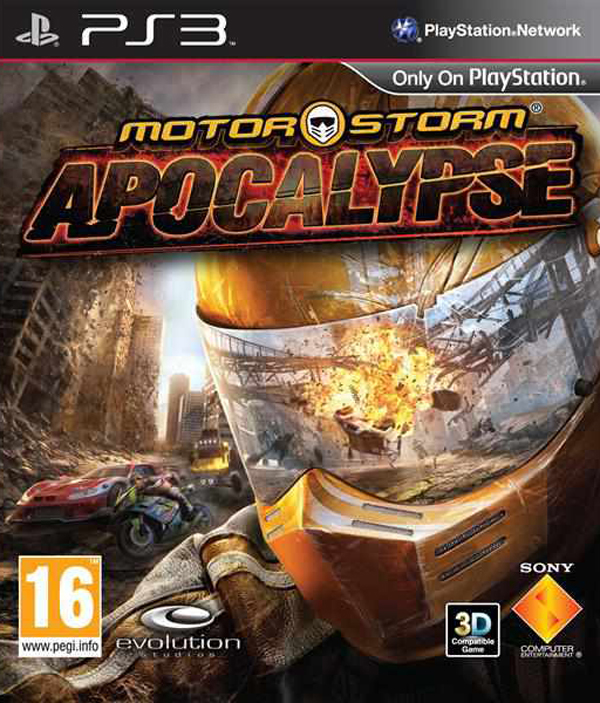 MotorStorm: Apocalypse Video Game Back Title by WonderClub