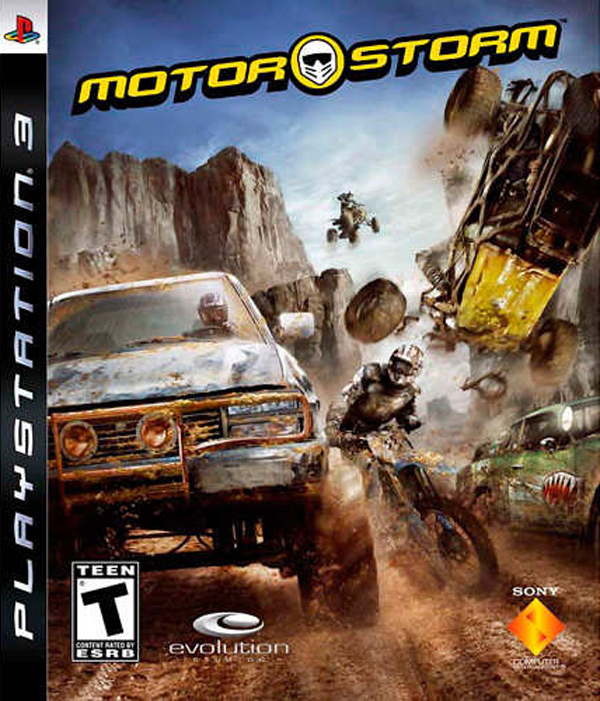 MotorStorm Video Game Back Title by WonderClub