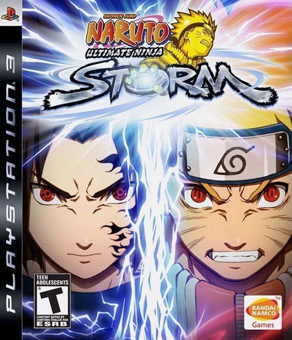 Naruto: Ultimate Ninja Storm Video Game Back Title by WonderClub