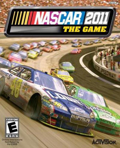 NASCAR The Game: 2011 Video Game Back Title by WonderClub