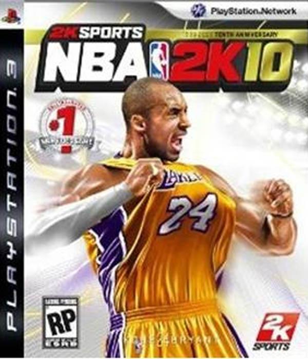 NBA 2K10 Video Game Back Title by WonderClub