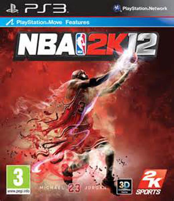 NBA 2K12 Video Game Back Title by WonderClub