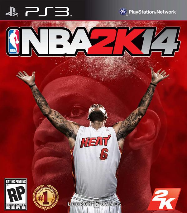 NBA 2K14 Video Game Back Title by WonderClub