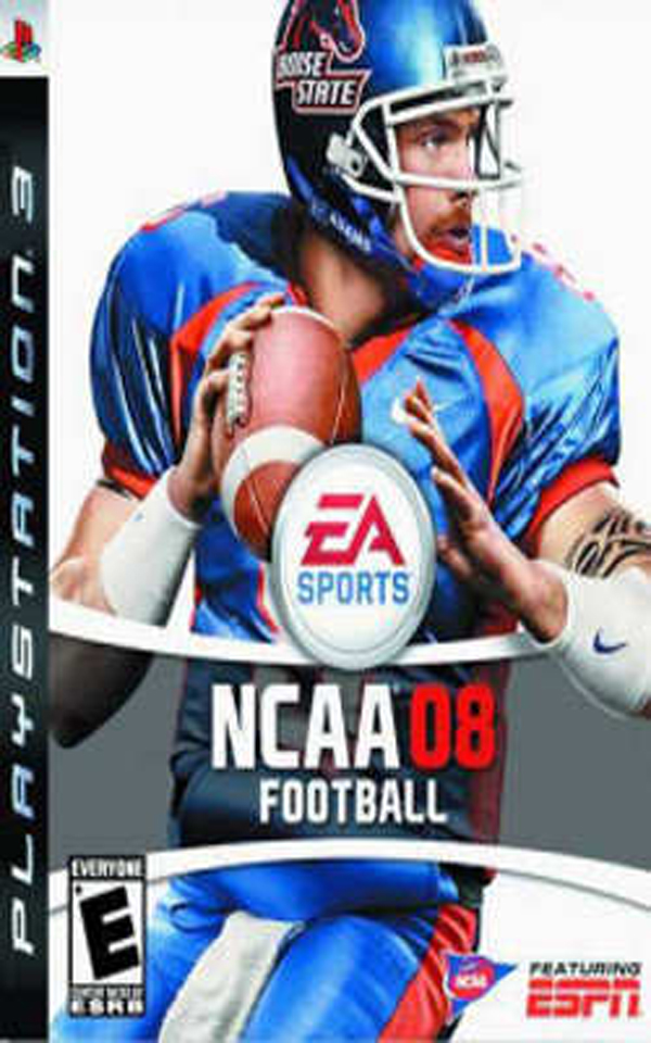 NCAA Football 08 Video Game Back Title by WonderClub