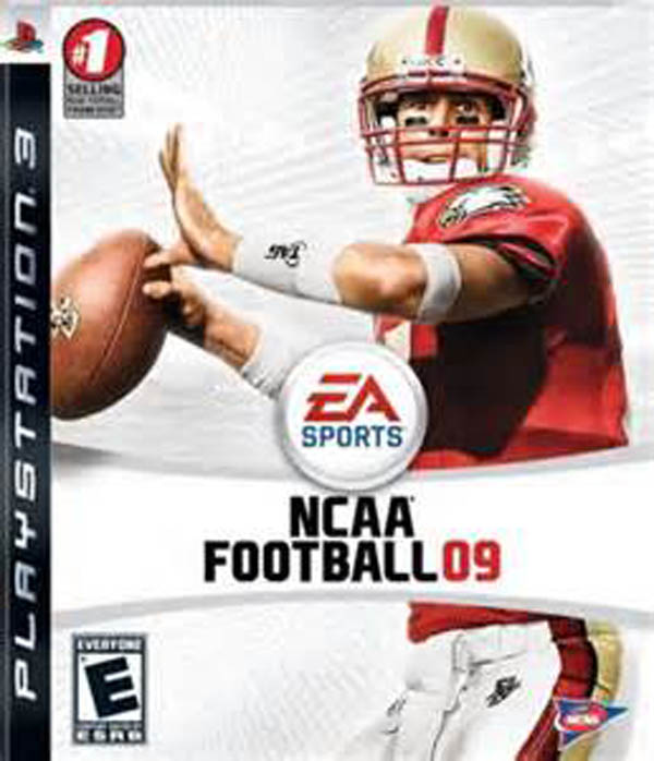 NCAA Football 09 Video Game Back Title by WonderClub