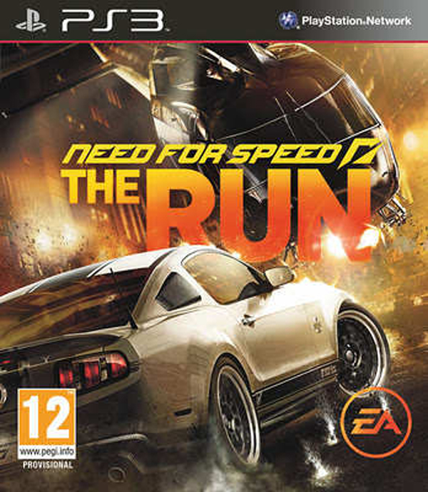 Need For Speed: The Run Video Game Back Title by WonderClub