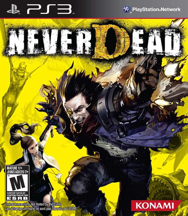 NeverDead Video Game Back Title by WonderClub