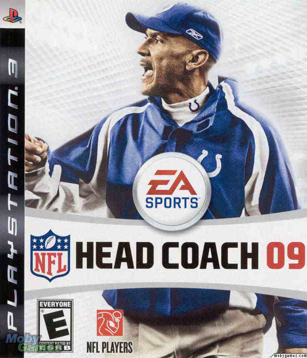 NFL Head Coach 09 Video Game Back Title by WonderClub