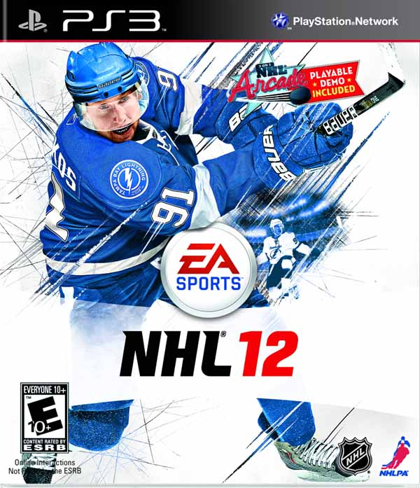 NHL 12 Video Game Back Title by WonderClub