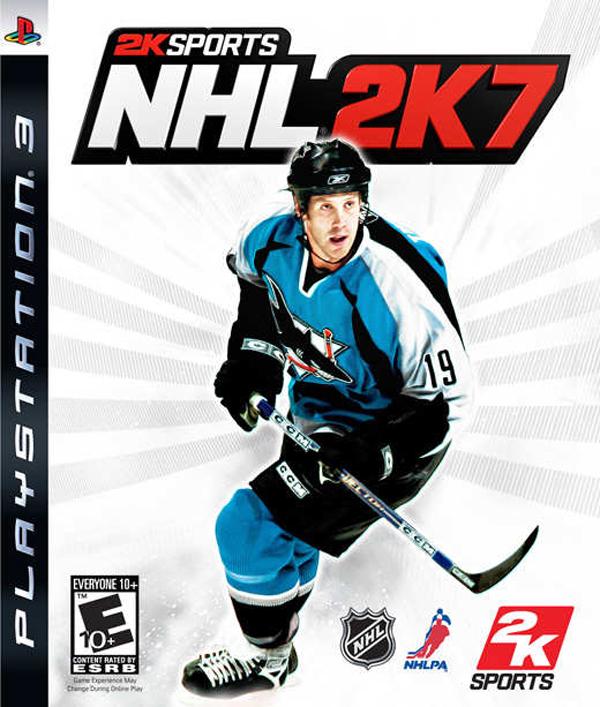 NHL 2K7 Video Game Back Title by WonderClub