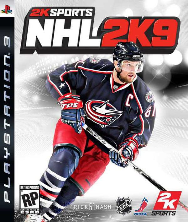 NHL 2K9 Video Game Back Title by WonderClub