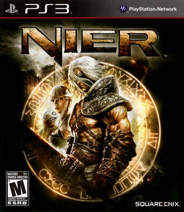 Nier Video Game Back Title by WonderClub