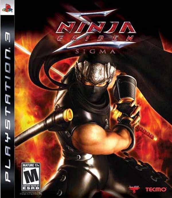 Ninja Gaiden Sigma Video Game Back Title by WonderClub