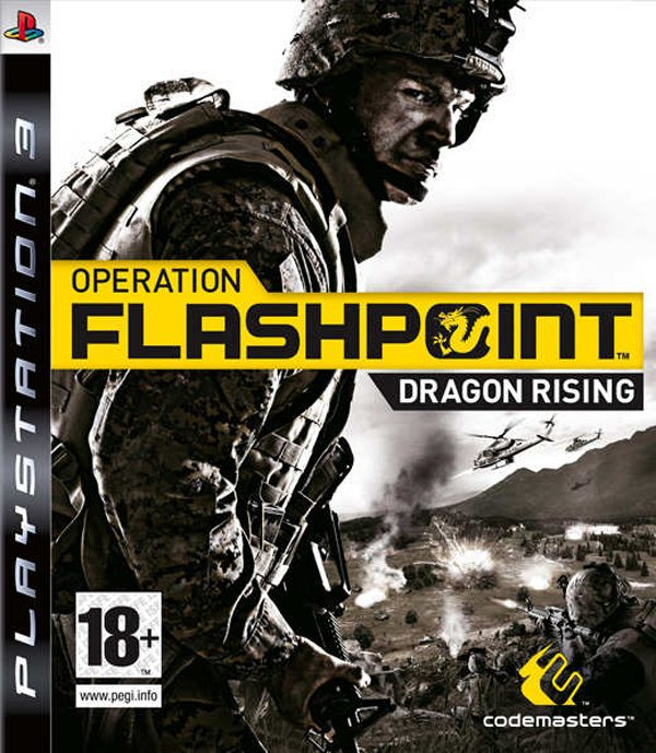 Operation Flashpoint: Dragon Rising Video Game Back Title by WonderClub