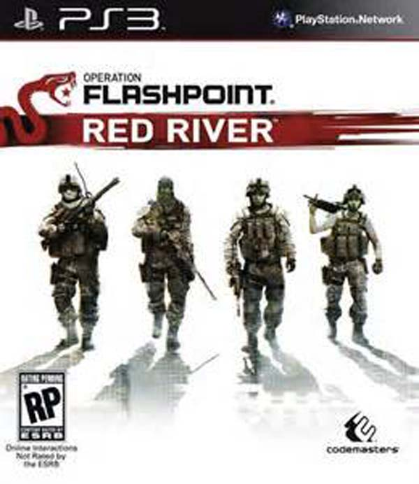 Operation Flashpoint: Red River Video Game Back Title by WonderClub