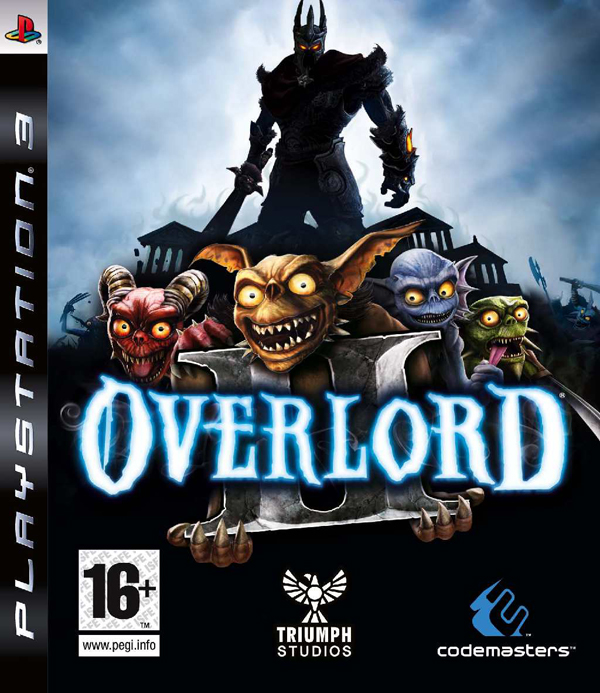 Overlord II Video Game Back Title by WonderClub