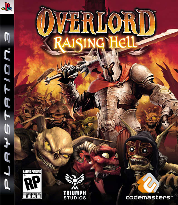 Overlord: Raising Hell Video Game Back Title by WonderClub