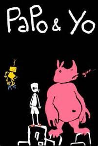Papo & Yo Video Game Back Title by WonderClub
