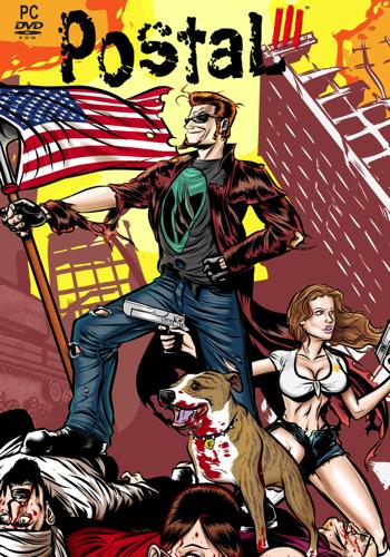 Postal III Video Game Back Title by WonderClub