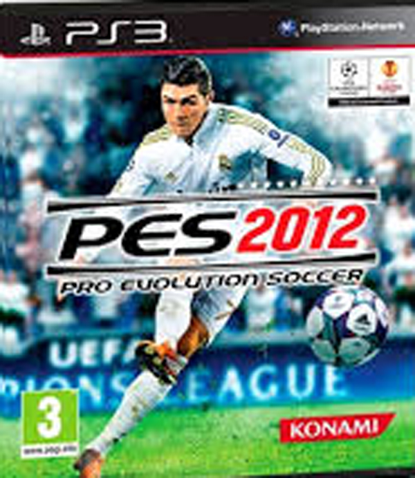 Pro Evolution Soccer 2012 Video Game Back Title by WonderClub