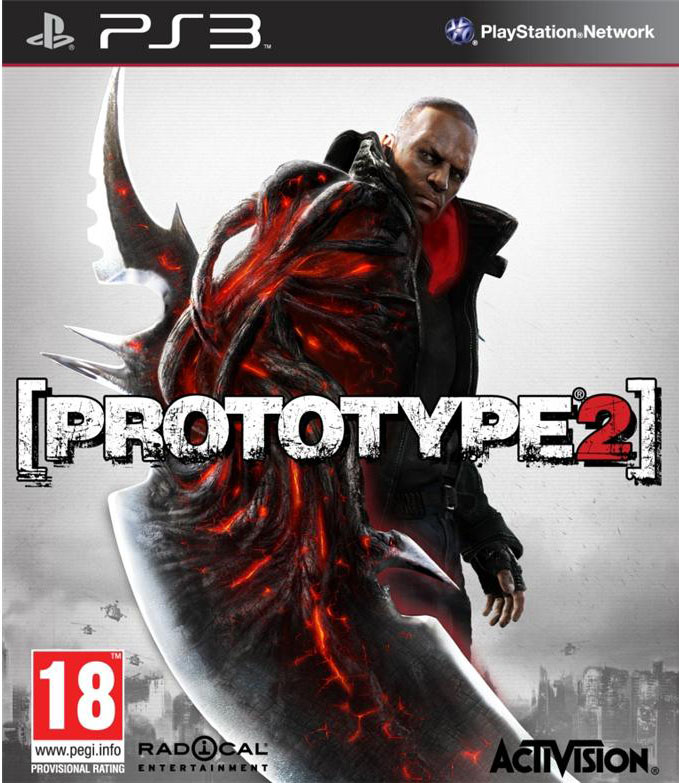 Prototype 2 Video Game Back Title by WonderClub