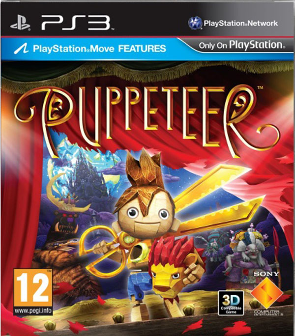 Puppeteer  Video Game Back Title by WonderClub