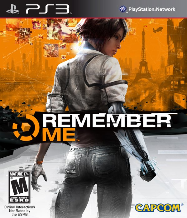 Remember Me Video Game Back Title by WonderClub