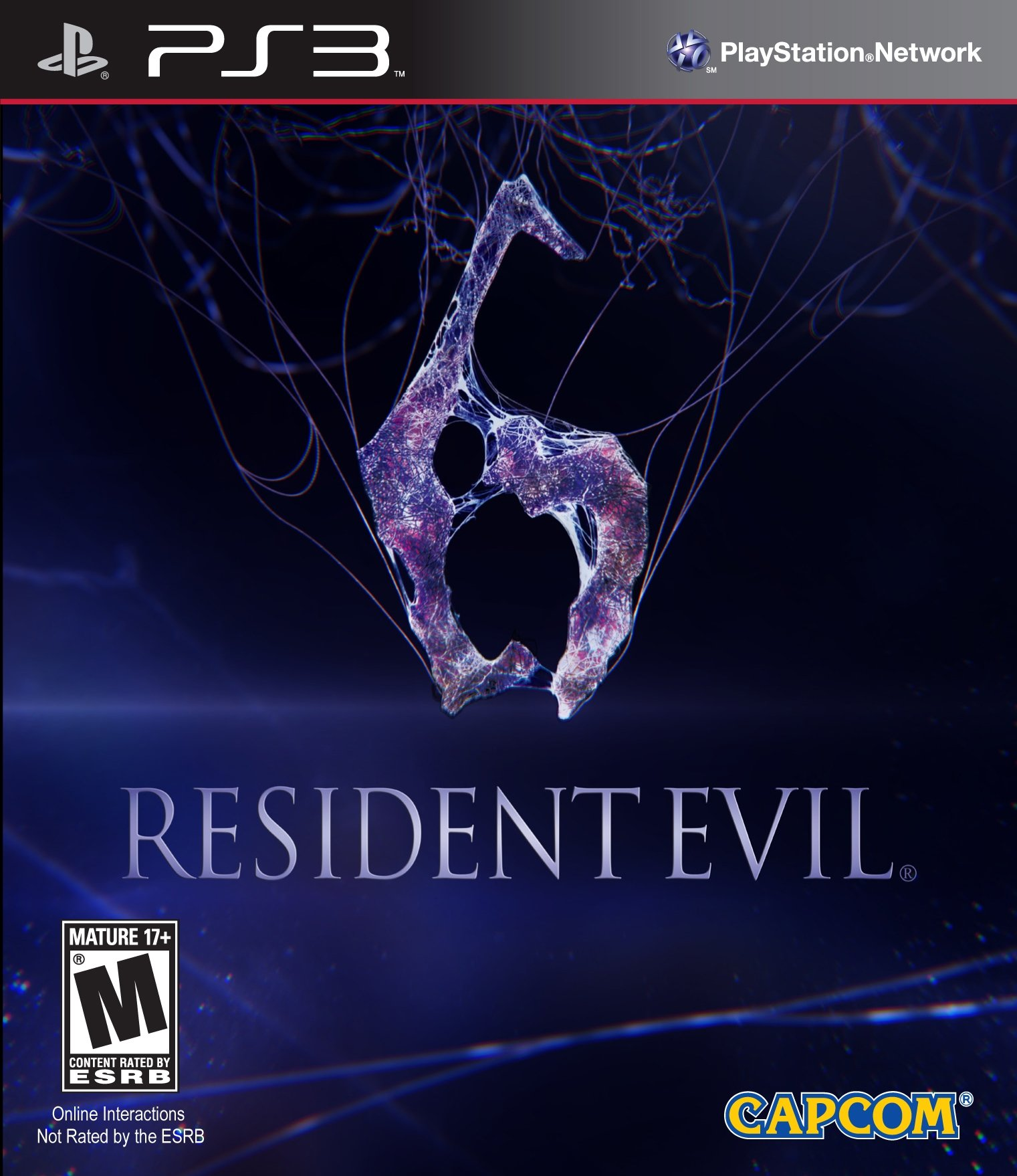 Resident Evil 6 Video Game Back Title by WonderClub